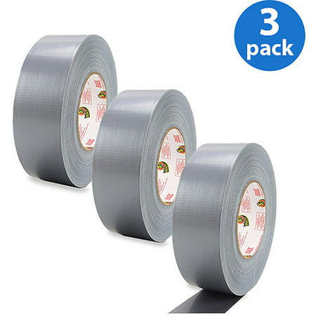Duck Brand Silver Duct Tape Solution Bundle - 3 Pack (Designer Duct Tape Pack)