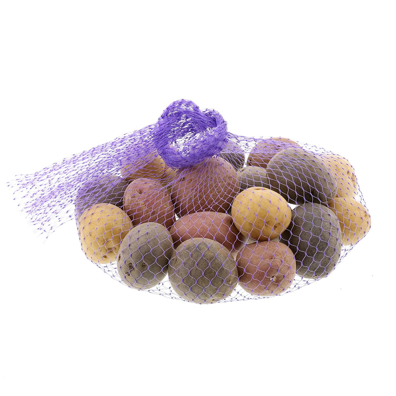 Royal Cave Royal Purple Plastic Mesh Produce and Seafood,...