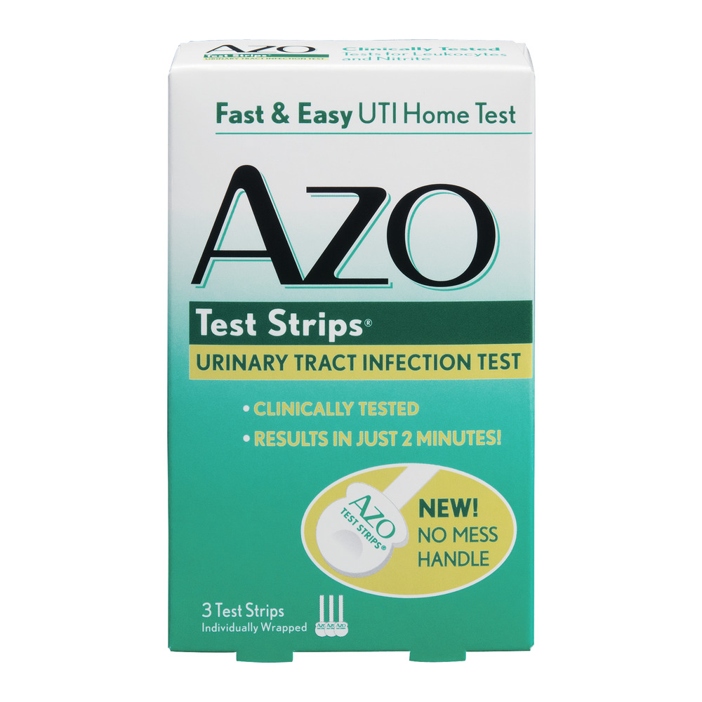 AZO Test Strips Urinary Tract Infection Test - 3 CT