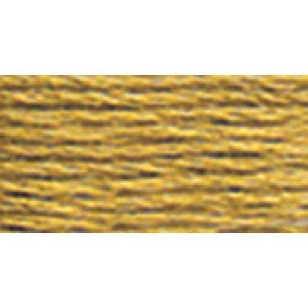 DMC Pearl Cotton Skein Size 3 16.4yd-Dark Yellow Beige - image 1 de 1