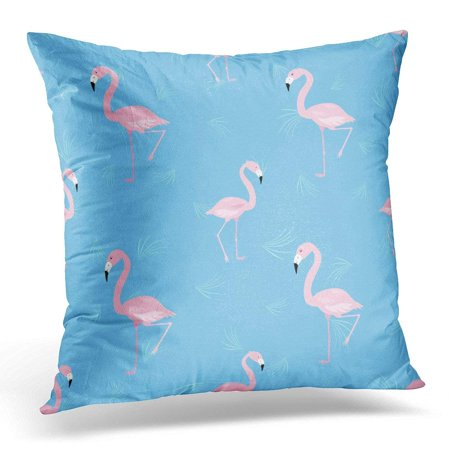 arhome blue abstract delicate pink flamingo beautiful throw pillow case pillow cover sofa home. Black Bedroom Furniture Sets. Home Design Ideas