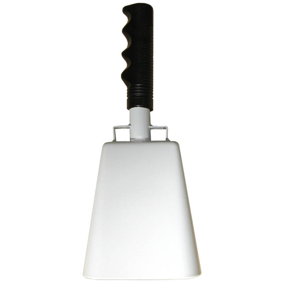 Cowbell, White by