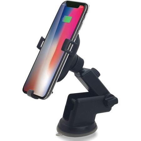 Contixo W1 Wireless Car Charger, Fast Charger Car Mount Air Vent Gravity Phone Holder - image 1 of 8