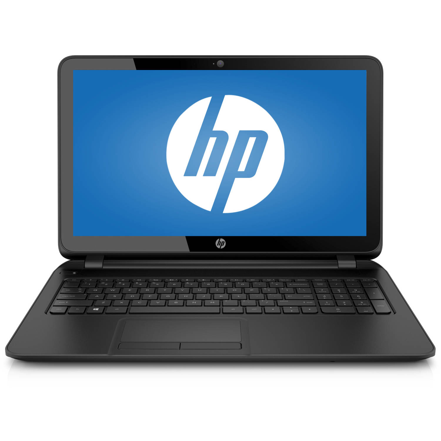 """HP Black 15.6"""" 15-f024wm Laptop PC with Intel Pentium N3530 Processor, 4GB Memory, Touchscreen, 500GB Hard Drive and Windows 8.1 (Eligible for Free Windows 10 Upgrade)"""