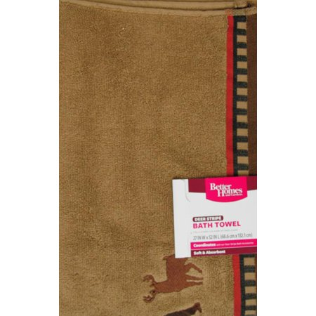 Better Homes And Gardens Deer Stripe Bath Collection Best Bath Towels