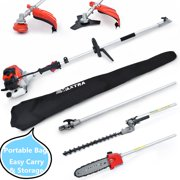 Maxtra 42.7cc Reach 14 FT Extension 4 in 1 Gas Pole saw Trimming Set