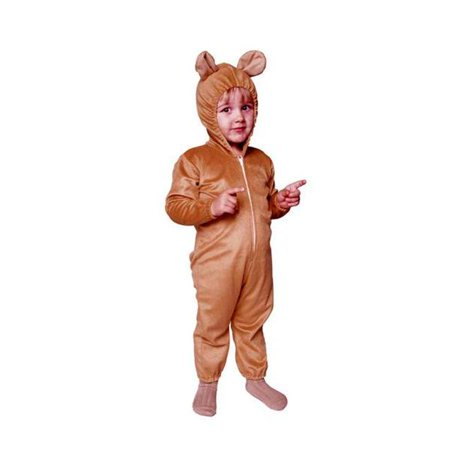 Cute Bear Jumpsuit Costume - Size Infant - image 1 de 1