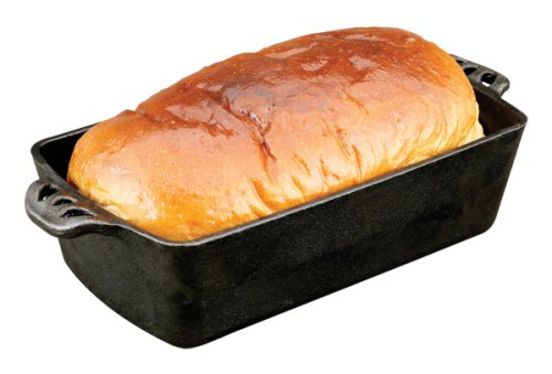 Camp Chef Home Seasoned Cast Iron Bread Pan by