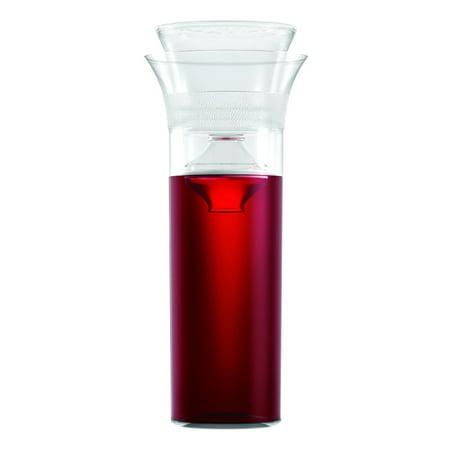Savino Enthusiast Shatterproof Wine Saving 25 Ounce Travel Carafe - Plastic Carafe
