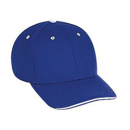 Low Profile Sandwich - Otto Cap Polyester Pro Mesh Sandwich Visor Low Profile Style Caps - Hat / Cap for Summer, Sports, Picnic, Casual wear and Reunion etc