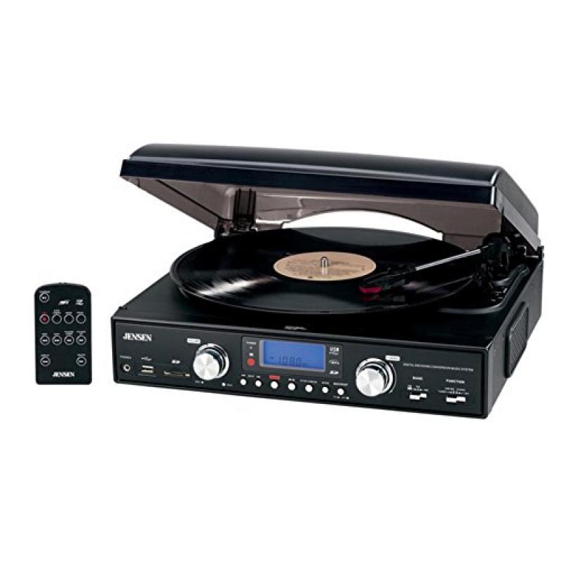 Jensen Jta460 Stereo Turntable 3Speed Mp3 Encoding System by Jensen