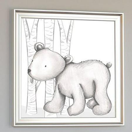 Doodlefish Baker Bear, Grey/White (Doodlefish Air)