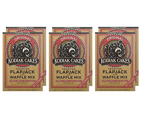 Kodiak Cakes Frontier Flapjack And Waffle Mix Original, 24.0 OZ by Baker Mills