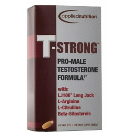 APPLIED NUTRITION T-Strong Formule de testostérone, des comprimés 24 bis (Paquet de 4)
