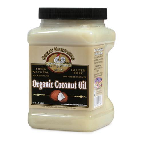 Great Northern Popcorn Premium Organic Coconut Oil, 32 Ounces