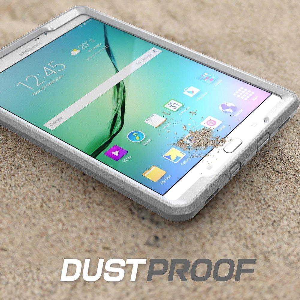 watch 009ca 1a348 i-Blason Samsung Galaxy Tab S2 8 Inch Unicorn Beetle PRO Full-Body  Protective Case - Tablet - Gray, White - Polycarbonate, Thermoplastic  Polyurethane ...