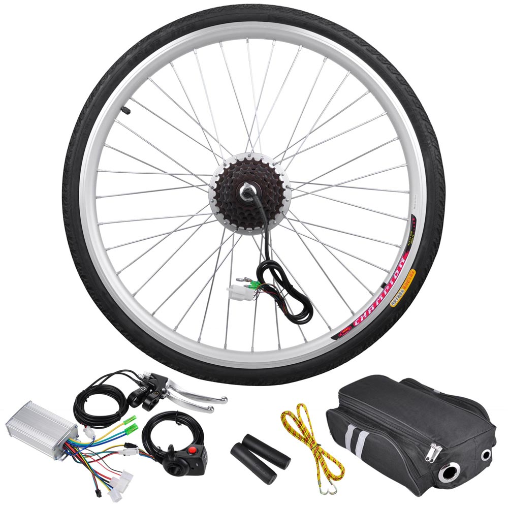"26""x1.75"" Rear Wheel 36V 250W Electric Bicycle Light Moto..."