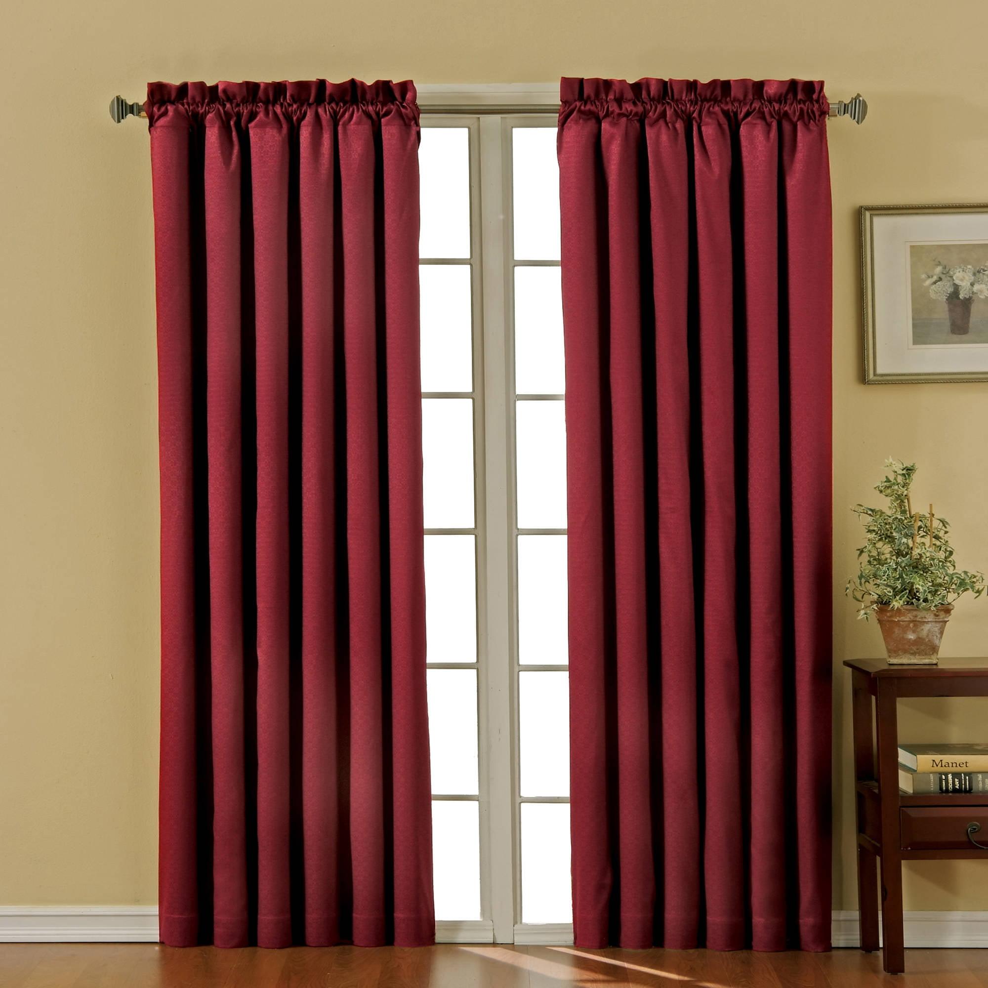 eclipse nottingham thermal energy-efficient grommet curtain panel