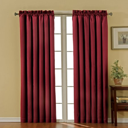 Eclipse Canova Thermal Energy-Efficient Rod Pocket Curtain (Cottage Cove White Panel)
