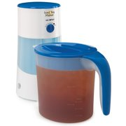Best Tea Makers - 3QT BLUE Ice Tea Maker Review