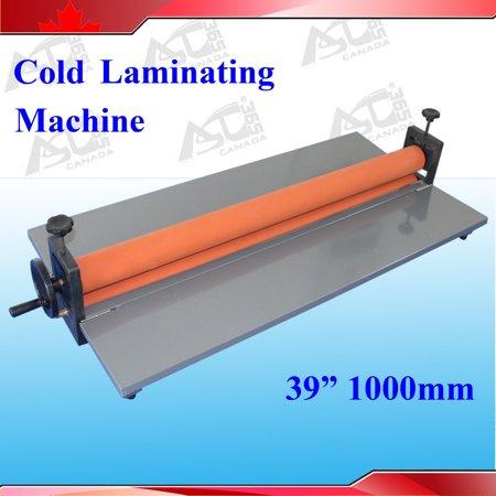 Cold Laminating - TechTongda 39Inch 1M Manual Cold Laminating Mounting Vinyl Film Machine Laminator #026205