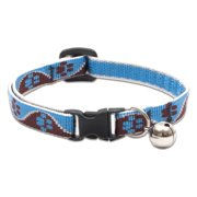 "Lupine Collars and Leads 34527 1/2"" x 8-12"" Muddy Paws Cat Collar with Bell"