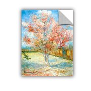 'Pink Peach Tree' Removable Wall Art Mural