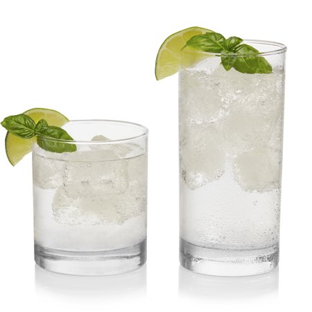 Libbey Province 16-Piece Tumbler and Rocks Glass Set