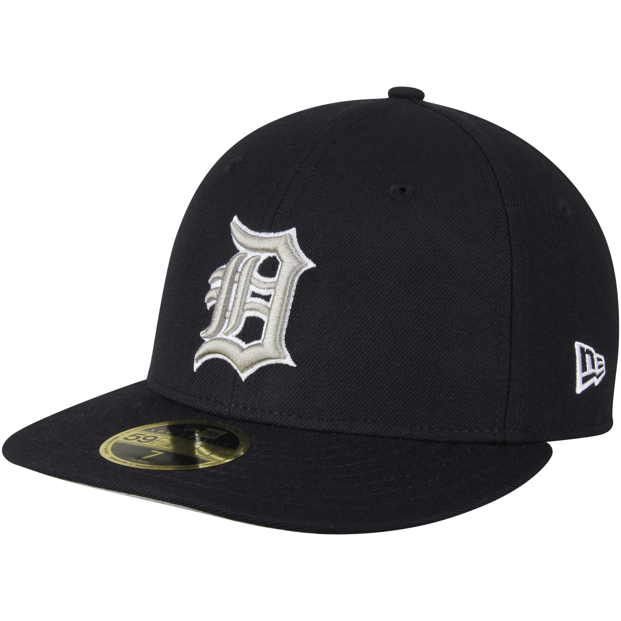 a11fd284492d8 ... top quality detroit tigers new era standard 2 low profile 59fifty fitted  hat navy walmart 4c925