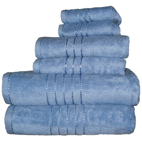 Revere Mills Haven Oversided Egyptian Cotton/Bamboo 6-Piece Towel Set