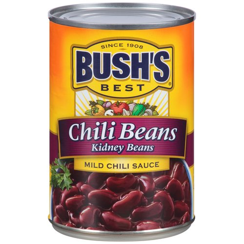 BUSHS BEST Kidney Beans in a Mild Chili Sauce 16 oz cans, 16.0 OZ by Bush Brothers & Co.