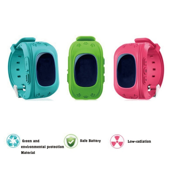 Touch Kids Smart Watch GPS Tracker with Camera SIM Calls Anti-lost SOS