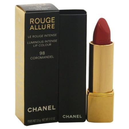 Rouge Allure Luminous Intense Lip Colour - # 98 Coromandel by Chanel for Women - 0.12 oz (Best Brush For Chanel Bronze Universal)