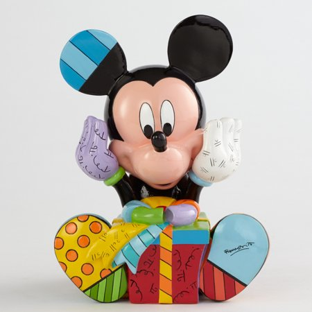Britto Disney Mickey Mouse with Birthday Gift Pop Art Figurine 4043279