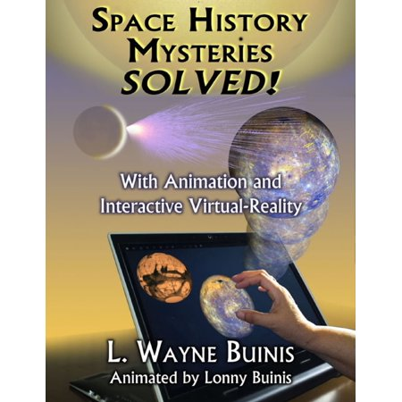 Space History Mysteries Solved! - With Animation and Interactive Virtual Reality - eBook](Halloween History Animation)