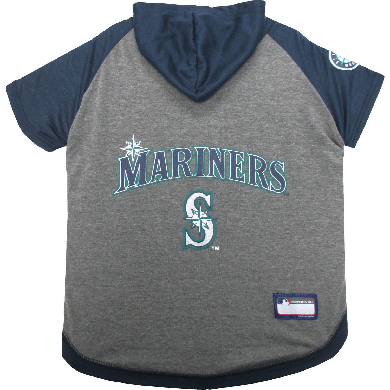 Pets First MLB Seattle Mariners Hoodie Tee Shirt by Pets First