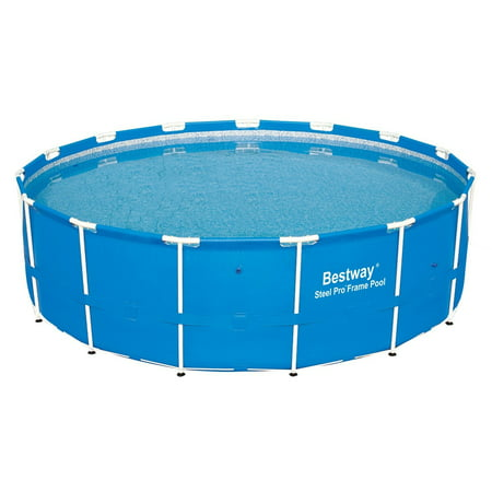 Bestway 15 39 X 48 Steel Pro Frame Above Ground Swimming Pool 12752