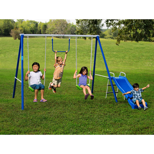 Metal Small Swing Set For Little Kids