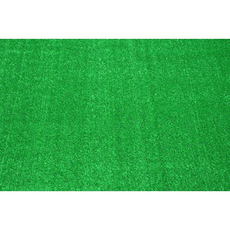 Indoor/Outdoor Green Artificial Grass Turf Area Rug 6