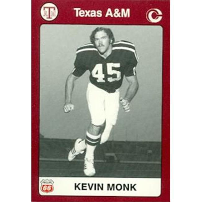 Kevin Monk Football Card (Texas A&M) 1991 Collegiate Collection No. 46