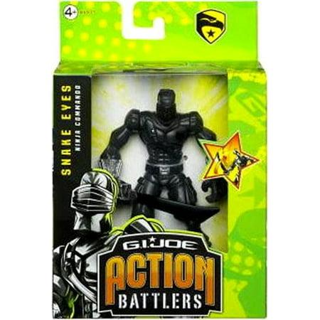 GI Joe Action Battlers Snake Eyes Action Figure ()