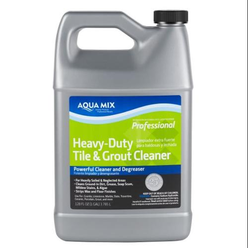 aqua mix heavy duty tile and grout cleaner 1 gallon