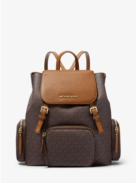 0cdb28974cd0 Product Image Michael Kors Abbey Large Logo Cargo Backpack in Brown Acorn