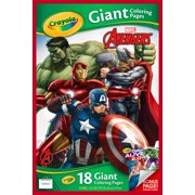 crayola avengers giant coloring pages 18 sheets for ages 3 - Childrens Coloring Books