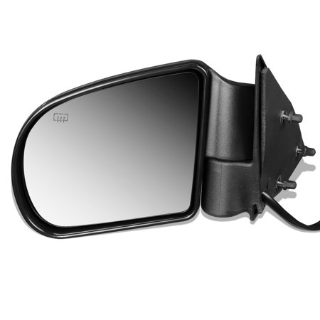 For 1998 to 2004 Chevy S10 Pickup Blazer GMC Sonoma Oldsmobile Bravada OE Style Powered+Heated Driver / Left Side View Door Mirror 15105941 99 00 01 02 03
