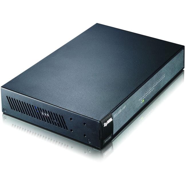 ZyXEL Communications 16 Port FE PoE Switch - ES1100-16P