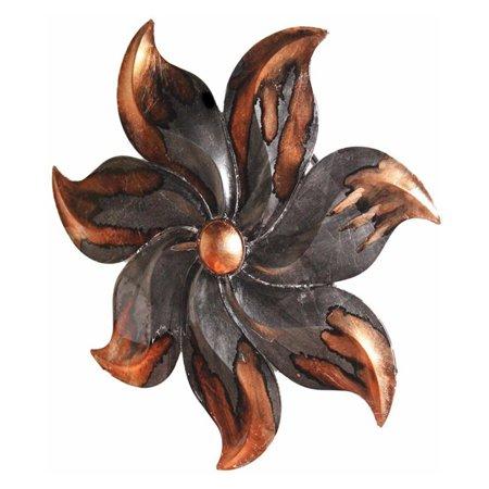 (Heather Ann Creations Starburst Flower Shaped Modern Metal Hanging Decorative Wall Panel)