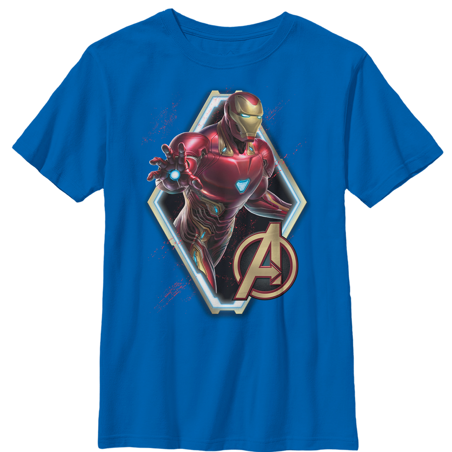 Marvel Boys' Avengers: Endgame Iron Man Frame T-Shirt