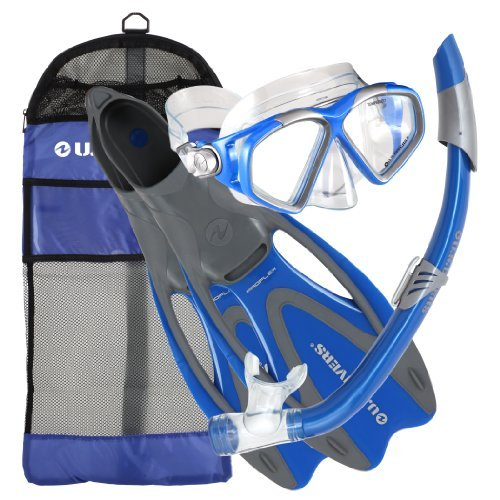 Cozumel Sea Breeze Gear Bag, Blue, Medium