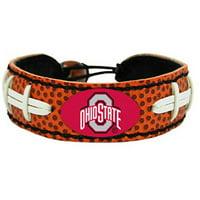 NCAA Ohio State Buckeyes Classic Football Bracelets